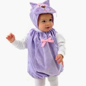 Infant/Baby Girl's Kitten Halloween Costume